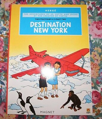 herge Jo Zette Jocko Destination New York. book like v good condition