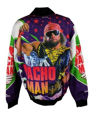 Macho Man Randy Savage WWE Legends Fanimation Chalkline Jacket