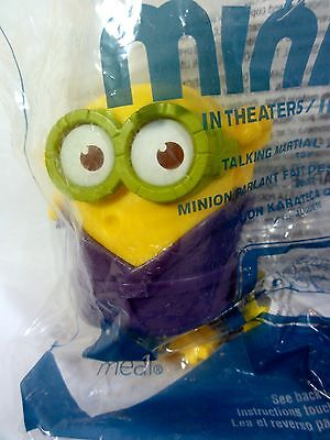 """Despicable Me McDonalds Happy Meal """" Minion """" Sealed In Package"""
