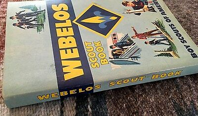 Webelos Scout Book - Boy Scouts Of America, Printed, 1969.