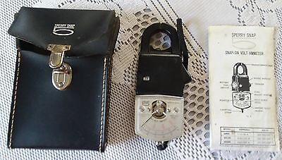 Sperry Snap 5 Snap-on Volt-Ammeter Model SR150 with case & instructions