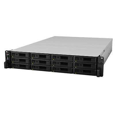Synology RS3617XS+ 24TB (12 x 2TB WD RED PRO) 12 Bay Rack Unit 60 Months Warrant