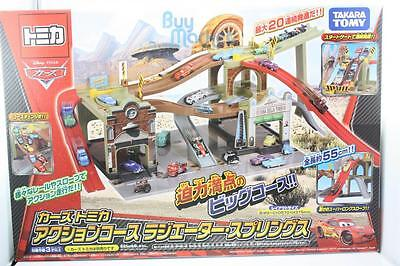 TAKARA TOMY Tomica CARS Action course radiator springs Diecast toy car play set