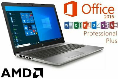 "Notebook Hp 255 G5 - Ssd - Windows 10 Pro - Bis 16Gb Ram - 15.6"" Mattes Display"