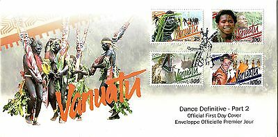 Vanuatu 2001 Dance Definitive - Part 2 FDC