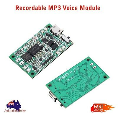 5V MP3 Recordable Voice Module Music Sound Chip Key Control DIY High Quality