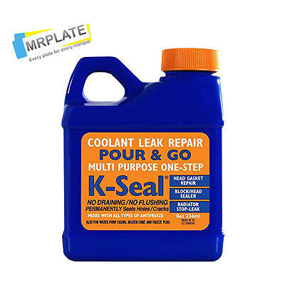 K Seal Permanent Coolant Repair, Head Gasket, Radiator Stop Leak K-Seal Kalimax