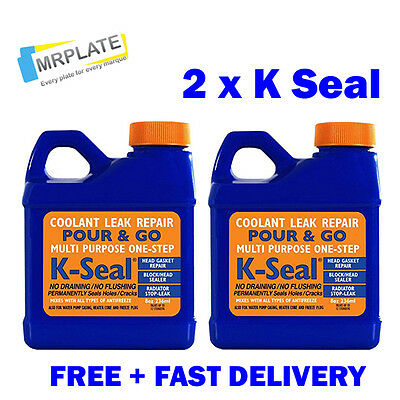 K Seal x 2 Coolant Repair, Head Gasket, Radiator Stop Leak K-Seal Kalimax