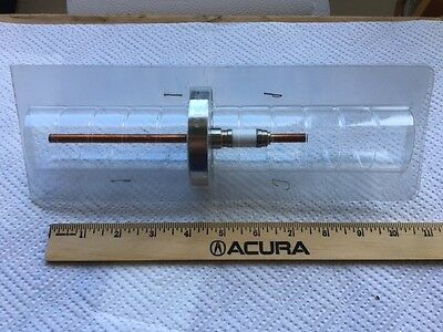 "NEW MDC Power Feedthrough, 5kV, 150A, 1/4"" diameter copper, CF275 Conflat"