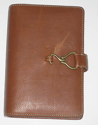Ralph Lauren Leather Address Book & Organizer Ring Binder NEW Vintage