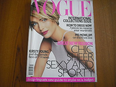 Vogue Magazine - March 1998 - International Collections Issue