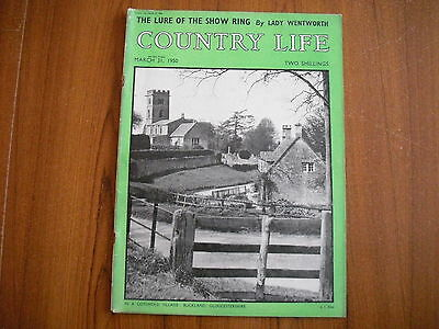 COUNTRY LIFE MAGAZINE - MARCH 31st 1950
