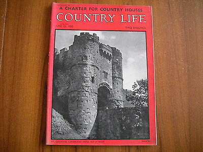 COUNTRY LIFE MAGAZINE - JUNE 23rd 1950