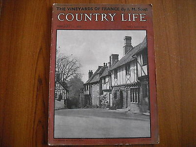 COUNTRY LIFE MAGAZINE - FEBRUARY 17th 1950