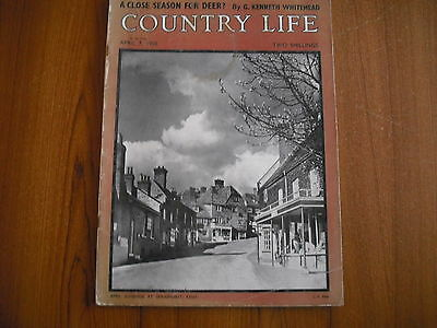 COUNTRY LIFE MAGAZINE - APRIL 7th 1950
