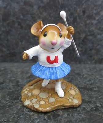 Wee Forest Folk WFF Majorette MP6 MP - 6 Collectible Mouse Figurine Parade