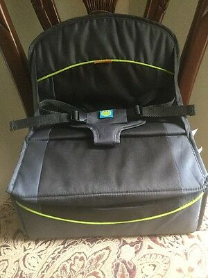 Brica Fold N'Go Travel Booster Seat High Baby Chair EUC