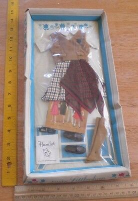 Hamlet William Shakespeare Judy Littlechap Remco 1963 ORIGINAL doll outfit MIB