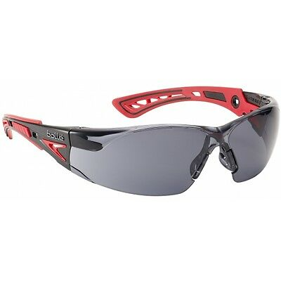 BOLLE Rush + Smoke Lens SUNGLASSES Safety Cycling Skiing Glasses NEW Sealed Plus