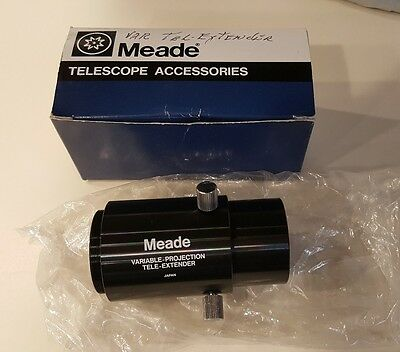 Meade Telescope 07348 Variable Projection Tele-Extender Astro Photo Imaging