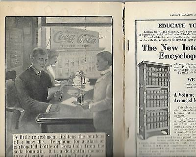 1906 Coca'cola Telephone For A Glass Massengale Watson's Magazine B&w Intact