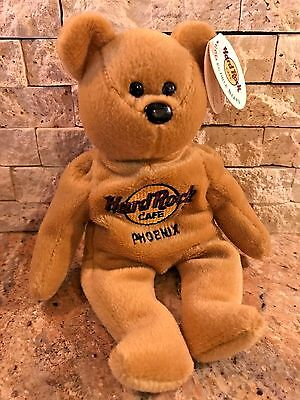 NEW Charlie Beara - PHILADELPHIA - Hard Rock Cafe Collectible Bears Plush Toy
