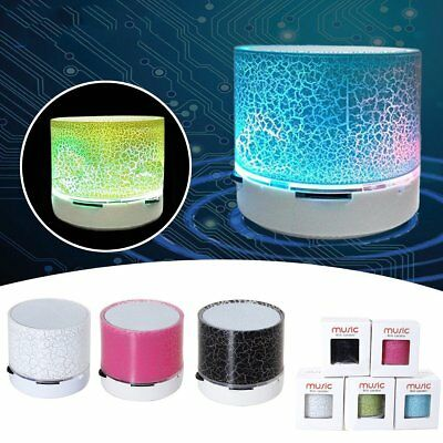 LED Portable Mini bluetooth Speakers Wireless Bass Speaker for MP3 iPhone iPad