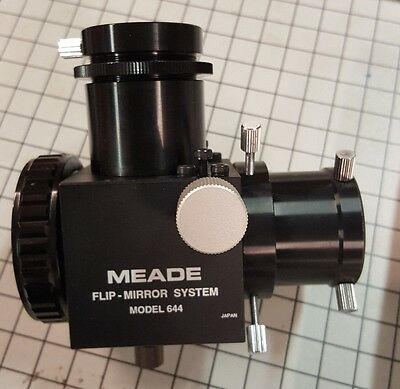"Meade Model 644 1.25"" flip mirror system with UHTC coatings"