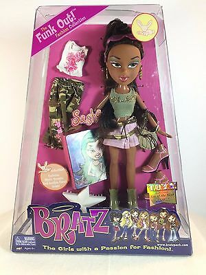 Bratz Girl Doll SASHA - The Funk Out Fashion Collection - NEW in Box 2004
