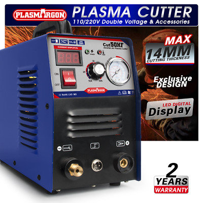 50A Plasma Cutter Inverter Digital Cutting Machine & Accessories 220V CUT50 2018