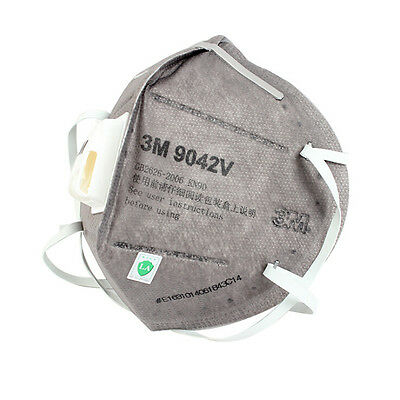 Folding protection face mask 3M 9042V Activated carbon respirator PM2.5