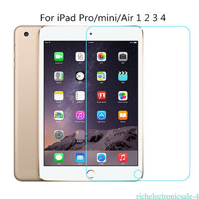 Premium Tempered Glass Screen Protector Film for Apple iPad 2 3 4 Air Mini Best