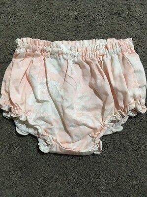 Baby Girls Pumpkin Patch Nappy Cover Shorts Size Newborn EUC