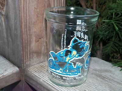 Welchs Vintage Tom and Jerry Soccer 1991 Jelly Glass