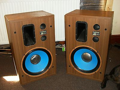 Excellent example of a pair of Goodmans db50 speakers | Family owned since new