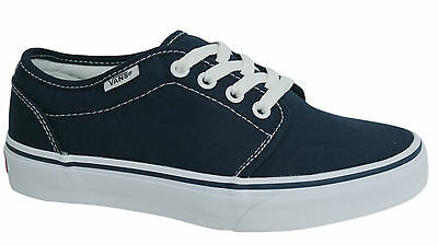 Vans Off The Wall 106 Vulcanized Lace Up Trainers Canvas Plimsolls 99ZNVY D69
