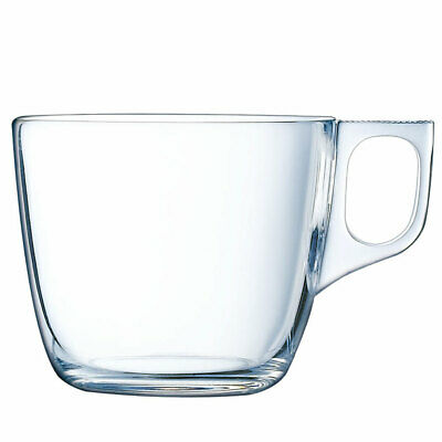 03695 Luminarc Nuevo  - Tasse Teetasse Kaffeetasse Transparent 220 ml