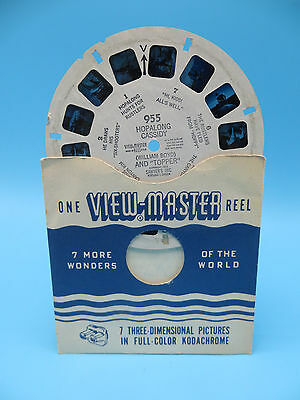 View-Master Reel 955, Hopalong Cassidy and Topper, Single Reel
