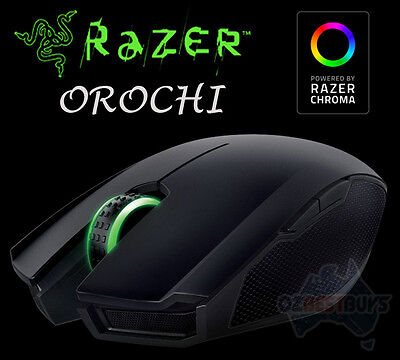 Razer Orochi Chroma 8200 DPI Wired or Bluetooth Wireless 4G Laser Gaming Mouse