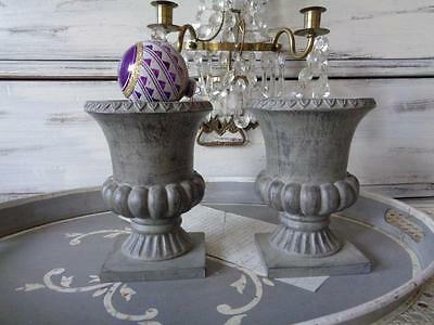 Amphora Shabby Chic Pillars, Candle Holders