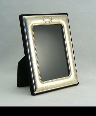 Continental Silver Hammered Picture- or Photo Frame