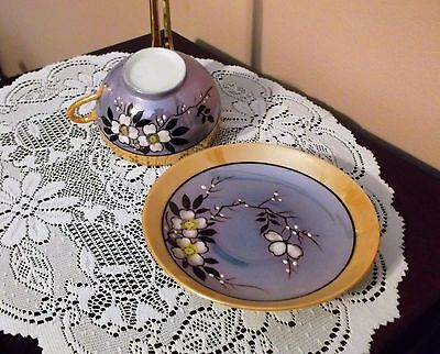 Vintage Japan Cup & Saucer Lusterware Very Good Condition