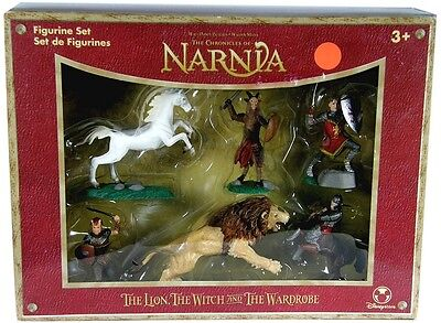 The Chronicles Of Narnia ~ 6 Piece Figurine Set #1 ~ Peter's Army ~ New In Box