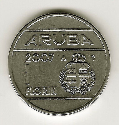 World Coins - Aruba 1 Florin 2007 Coin KM# 5