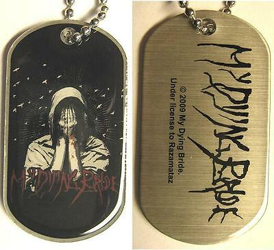 """My Dying Bride Dog Tag """"my Body A Fureral"""" - Necklace - Hundemarke - Halskette"""