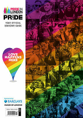 2017 London Gay Pride Official Souvenir Guide - 164 pages Magazine