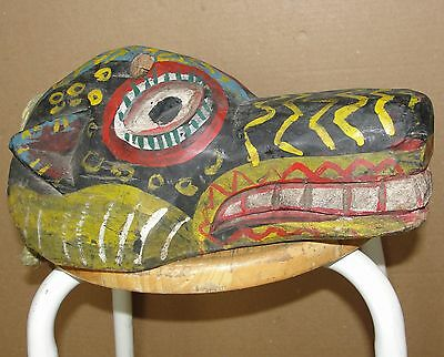 Old Mask Dog Tiger Perro Cat Green Head Latin Mexican African Asia Masque Leopar