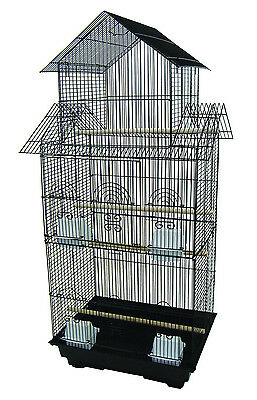 NEW Large Tall Pagoda Top Canary Parakeet Cockatiel LoveBird Finch Bird Cage-384