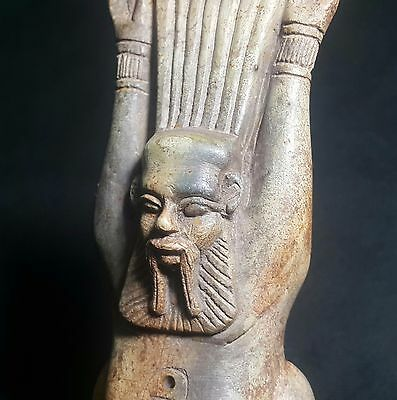 Rare Ancient Egyptian The god of Bes  New Kingdom (1549to1069 BC)
