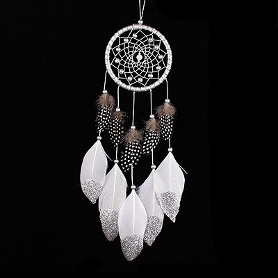 Handmade Feathers Tassel Dream Catcher Wall Car Hanging Ornaments Decor Healthy